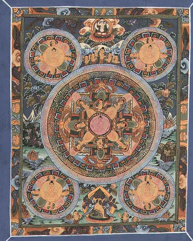 Mini Mandala Thangkas